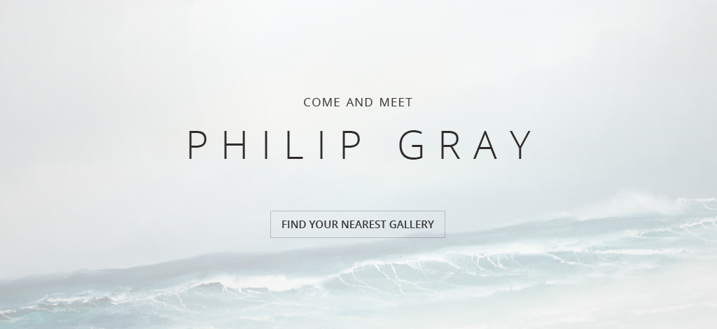 Philip Gray event banner