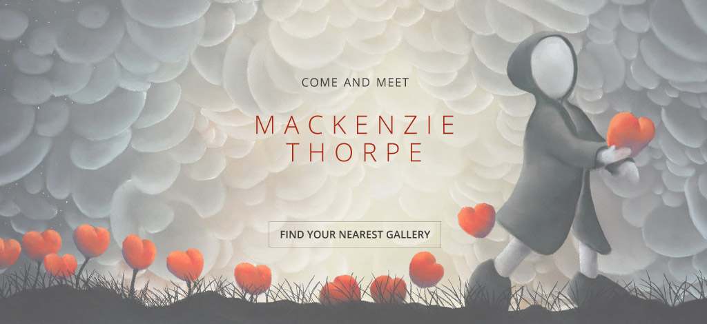 Come and Meet Mackenzie Thorpe