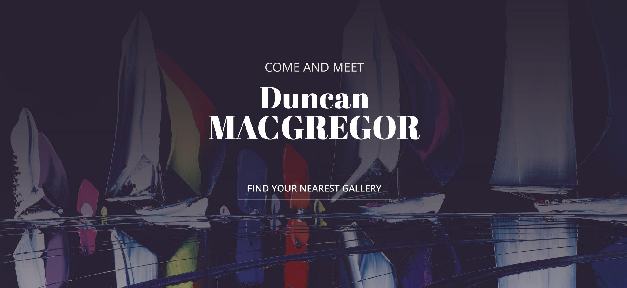 Come and Meet Duncan MacGregor