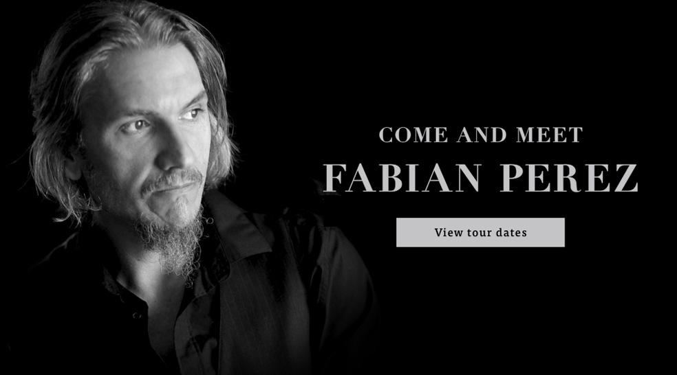 Upcoming Fabian Perez Autumn Tour 2019 image