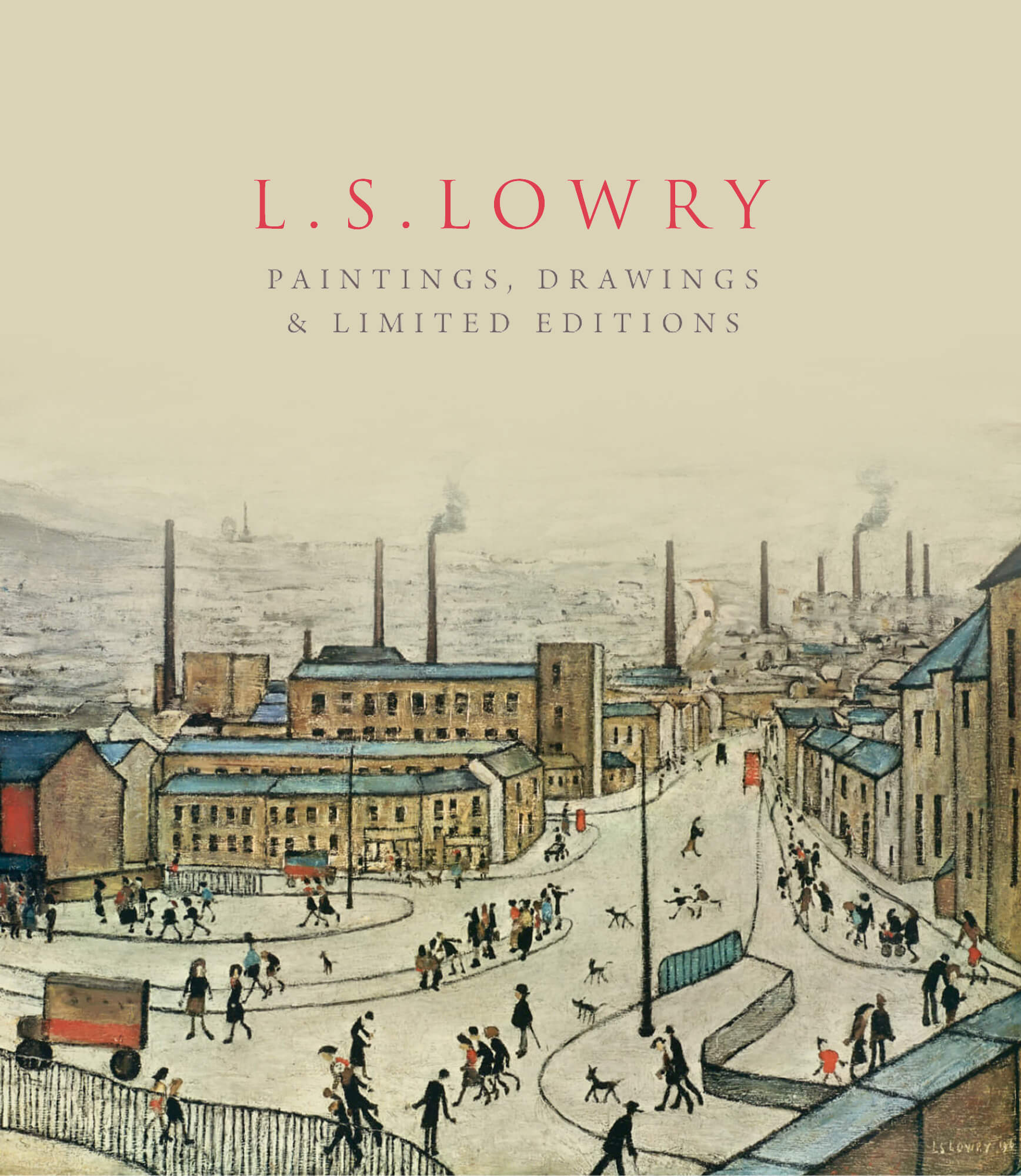 L.S.Lowry the new collection of highly sought-after paintings and rare signed limited editions image