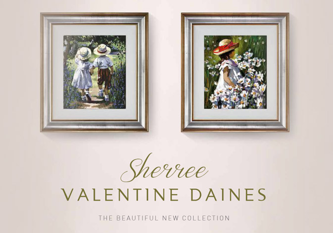 Inspirational New Collection by Sherree Valetine Daines