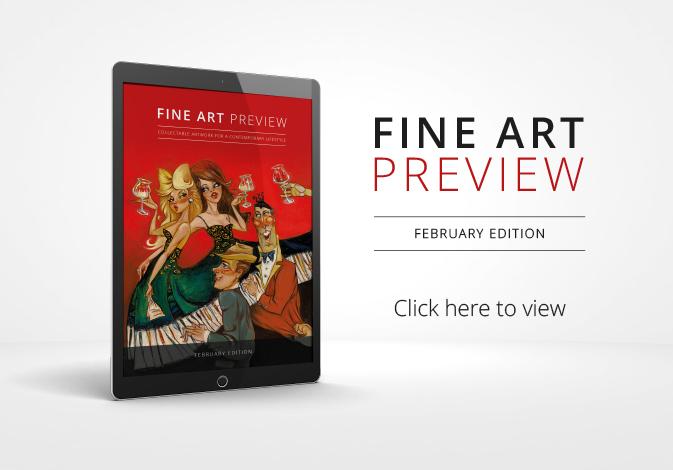 Fine Art Preview MAgazine February Edition